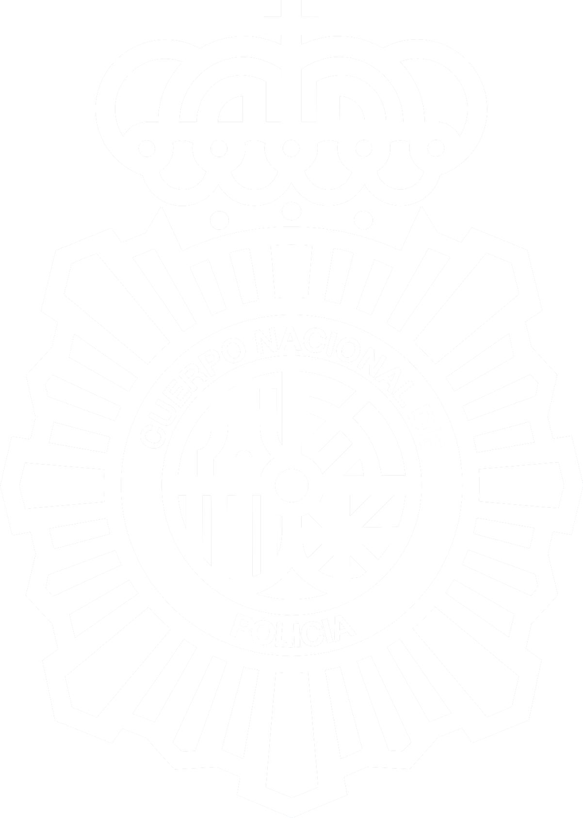 Escudo CNP (Blanco) 2